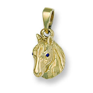Children Clipon Earrings and Children Jewellery – Horse Head
