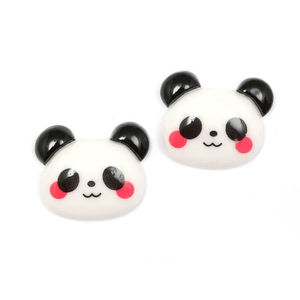 Children Clipon Earrings and Children Jewellery – Adorable panda clip-on earrings